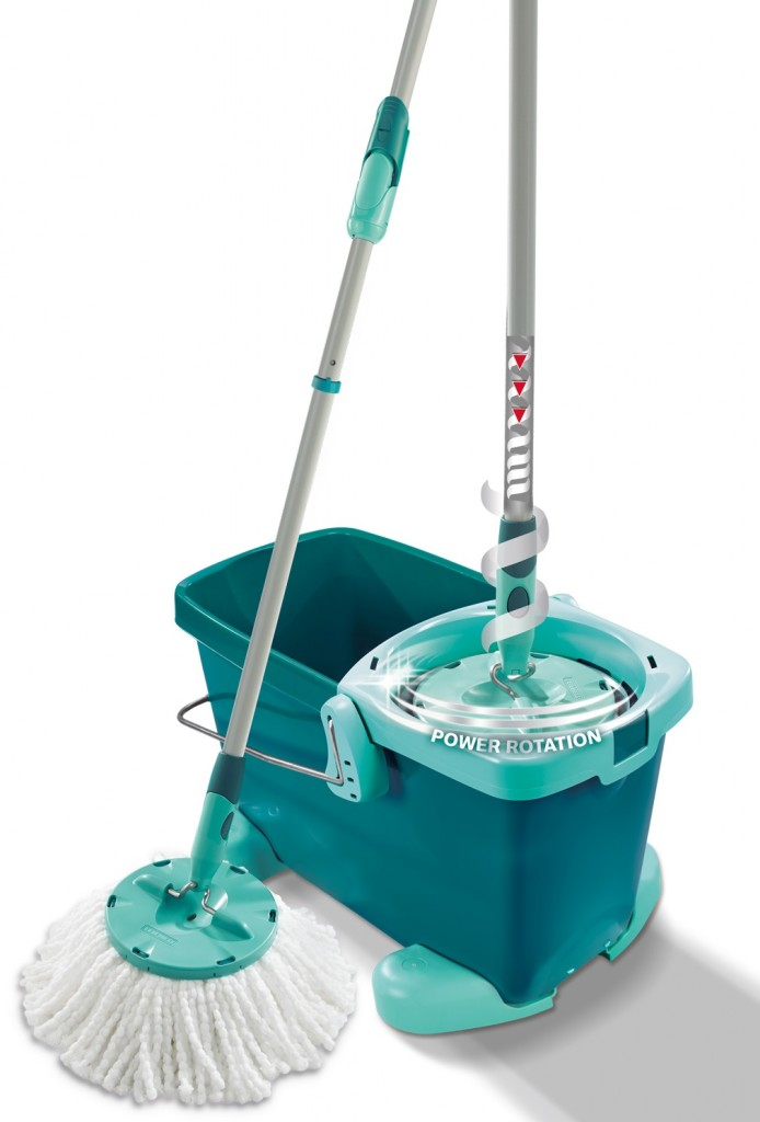 set clean twist system mop mit rollwagen leifheit 52052 leifheit produkte. Black Bedroom Furniture Sets. Home Design Ideas